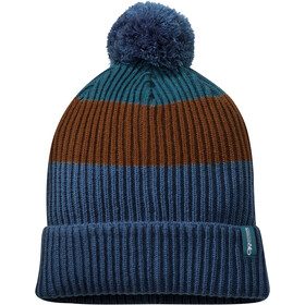 Outdoor Research Leadville Beanie, peacock/saddle
